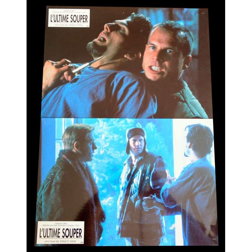 L'ULTIME SOUPER Photos x2 21x30 - 1995 - Cameron Diaz, Stacy Title