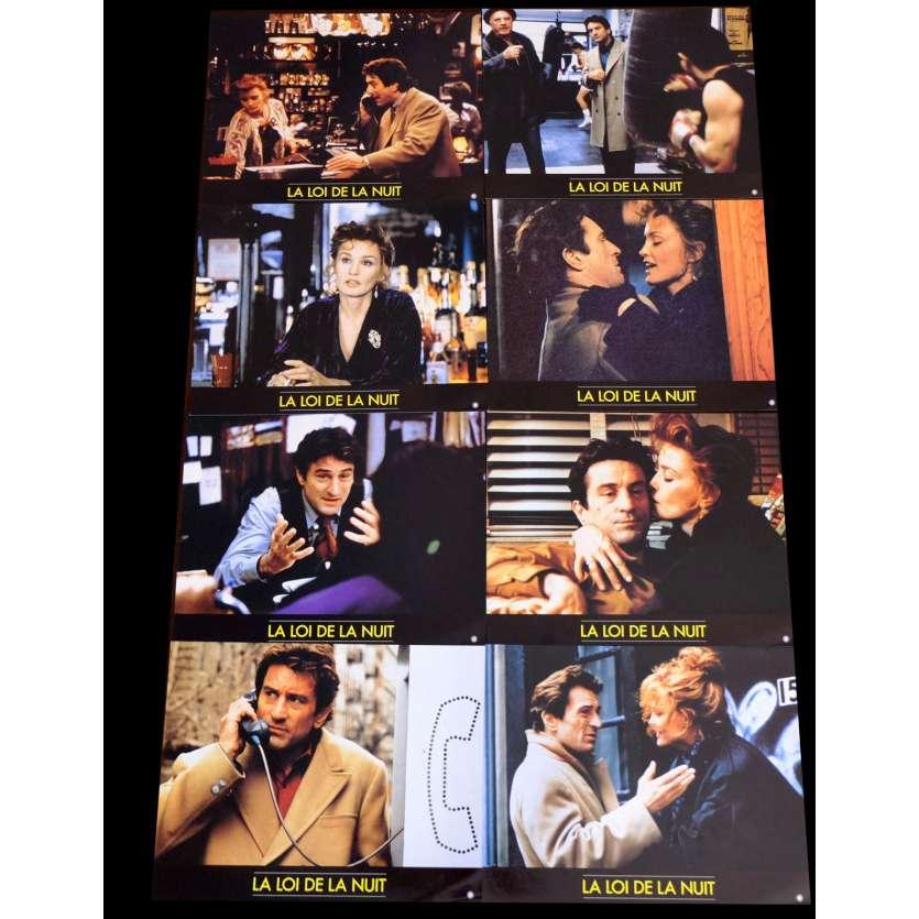 LA LOI DE LA NUIT Photos x8 21x30 - 1992 - Robert De Niro, Irwin Winkler