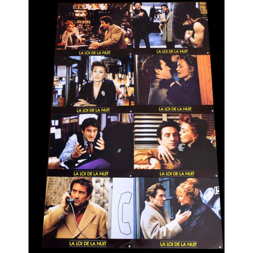 NIGHT AND THE CITY French Lobby cards x8 9x12 - 1992 - Irwin Winkler, Robert De Niro