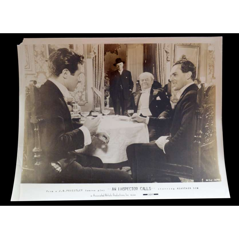AN INSPECTOR CALLS US Press Still 8x10 - 1954? - Guy Hamilton, Alastair Sim