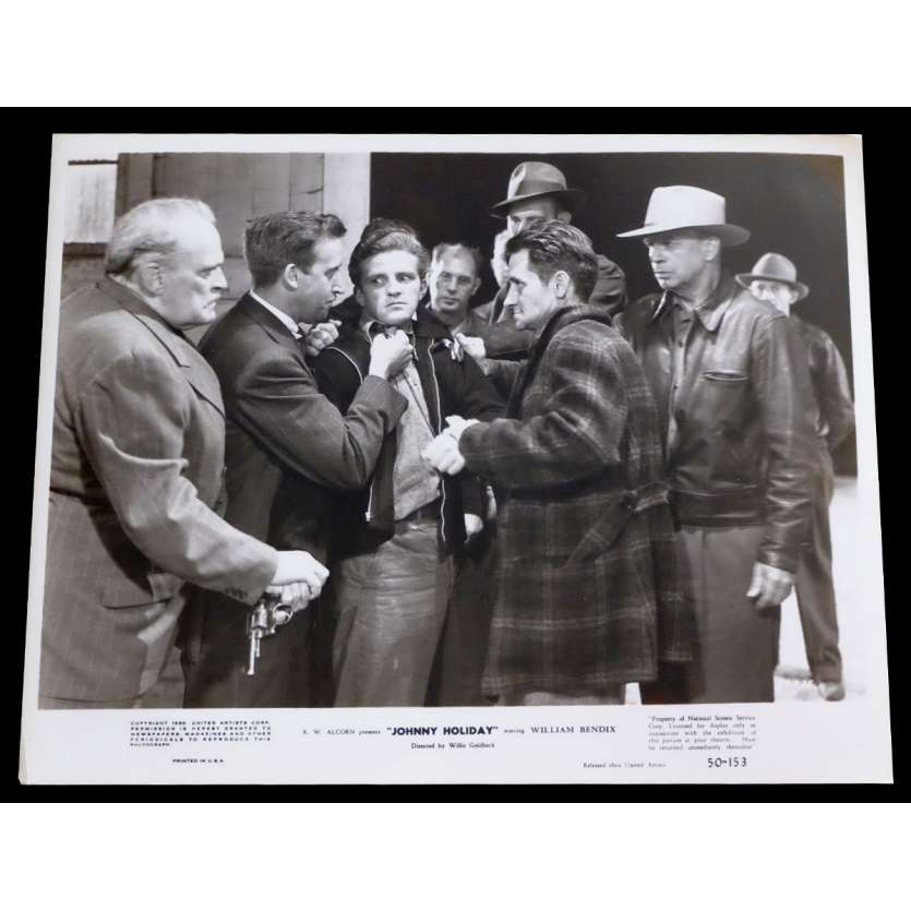 JOHNNY HOLIDAY US Press Still 8x10 - 1950 - Willis Goldbeck, William Bendix