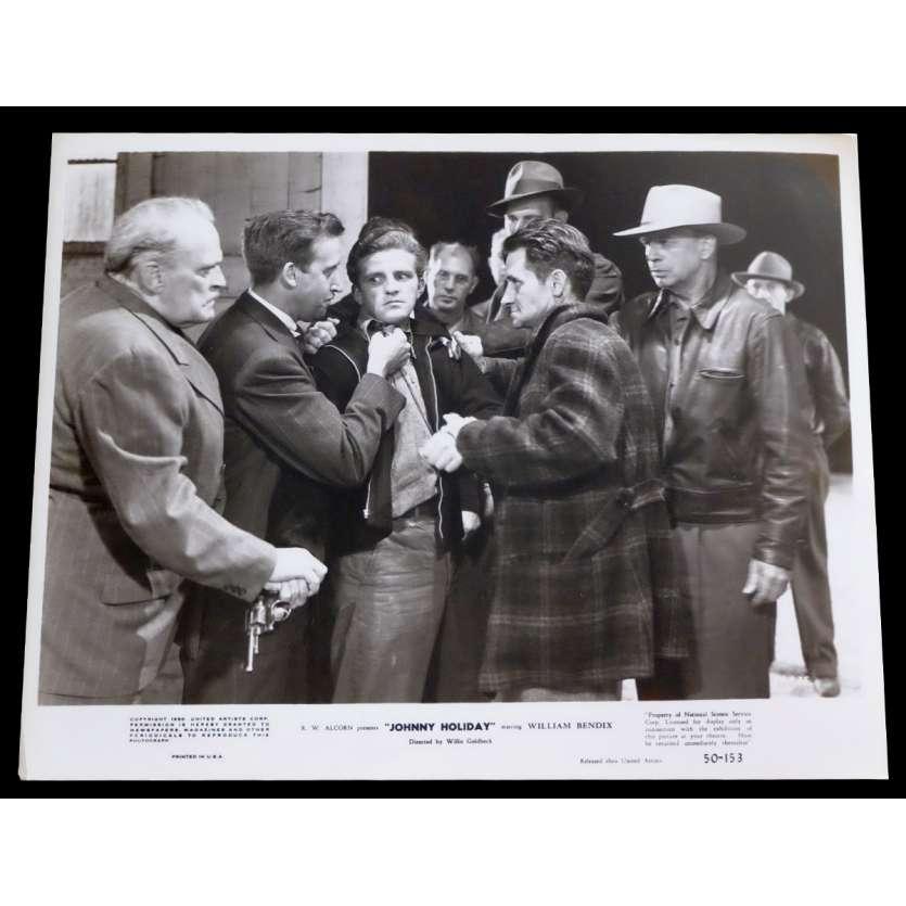 JOHNNY HOLIDAY Photo de presse 20x25 - 1950 - William Bendix, Willis Goldbeck
