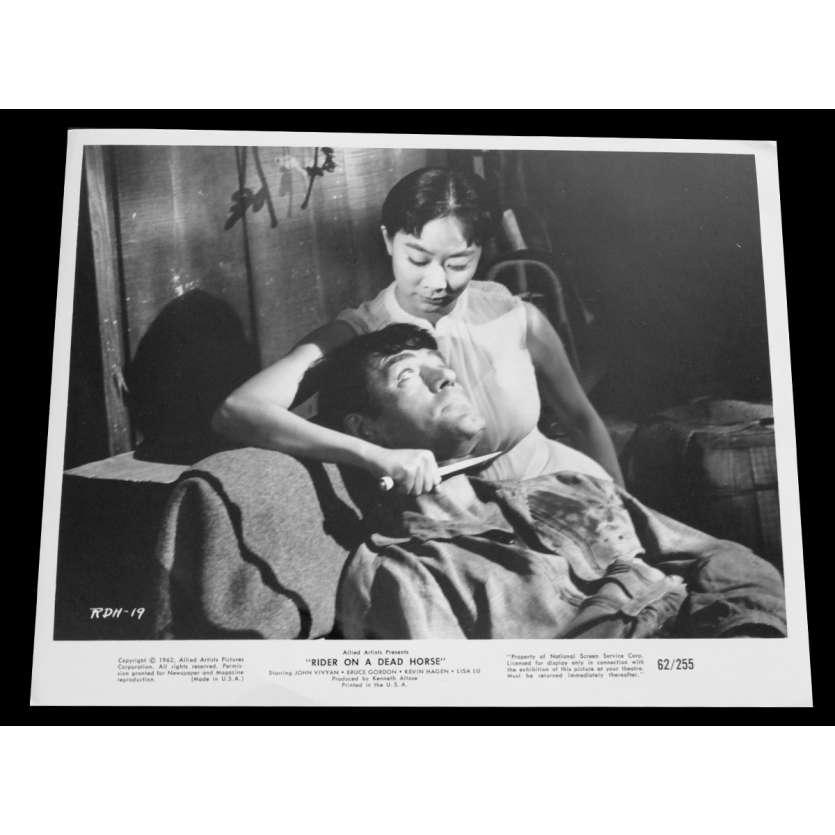 RIDER ON A DEAD HORSE Photo de presse 20x25 - 1962 - John Vivyan, Herbert L. Strock