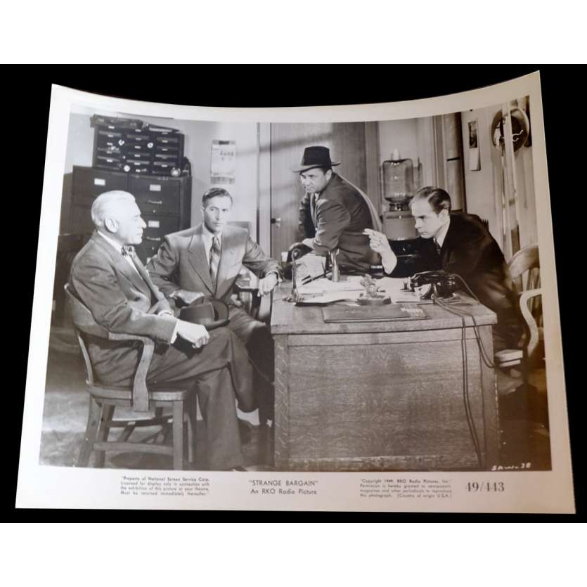 STRANGE BARGAIN US Press Still 1 8x10 - 1949 - Will Price, Martha Scott