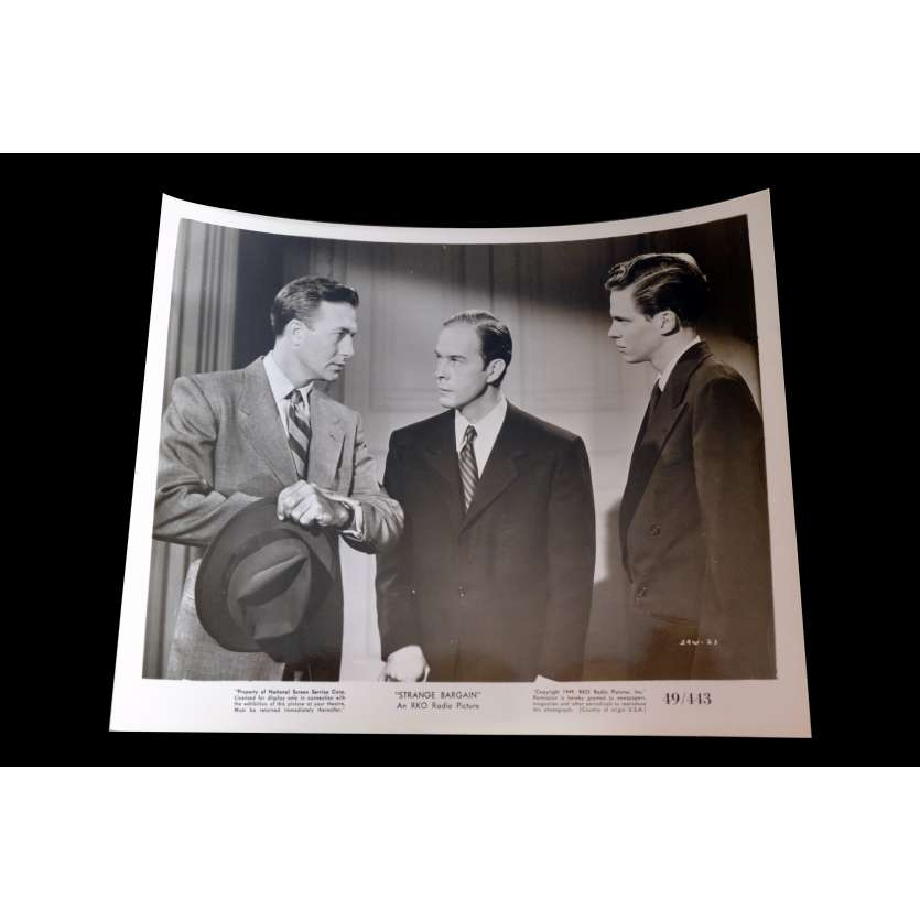 STRANGE BARGAIN US Press Still 2 8x10 - 1949 - Will Price, Martha Scott