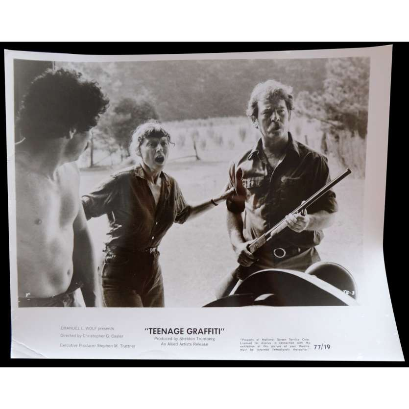 TEENAGE GRAFFITI Photo de presse 20x25 - 1977 - Michael Driscoll, Christopher G. Casler
