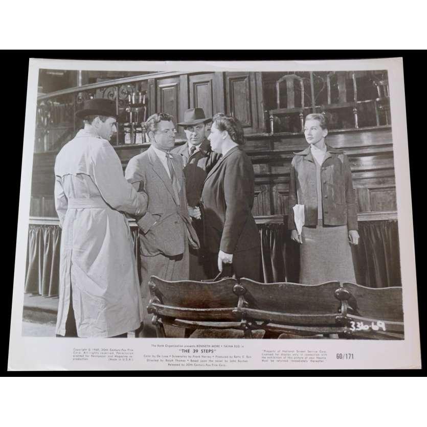 LES 39 MARCHES Photo de presse 20x25 - 1960 - Kenneth More, Ralph Thomas