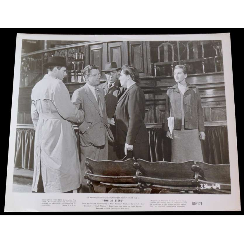 THE 39 STEPS US Press Still 8x10 - 1960 - Ralph Thomas, Kenneth More