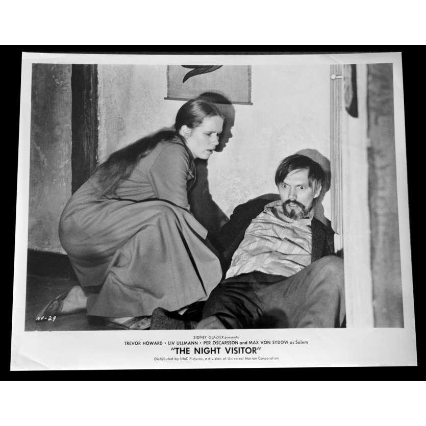 THE NIGHT VISITOR Photo de presse 20x25 - 1971 - Max von Sydow, Laslo Benedek