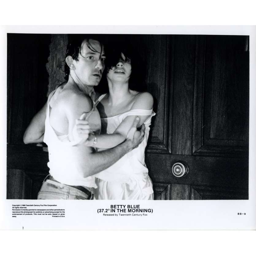 BETTY BLUE US Still 11 8x10 - 1986 - Jean-Jacques Beineix, Béatrice Dalle