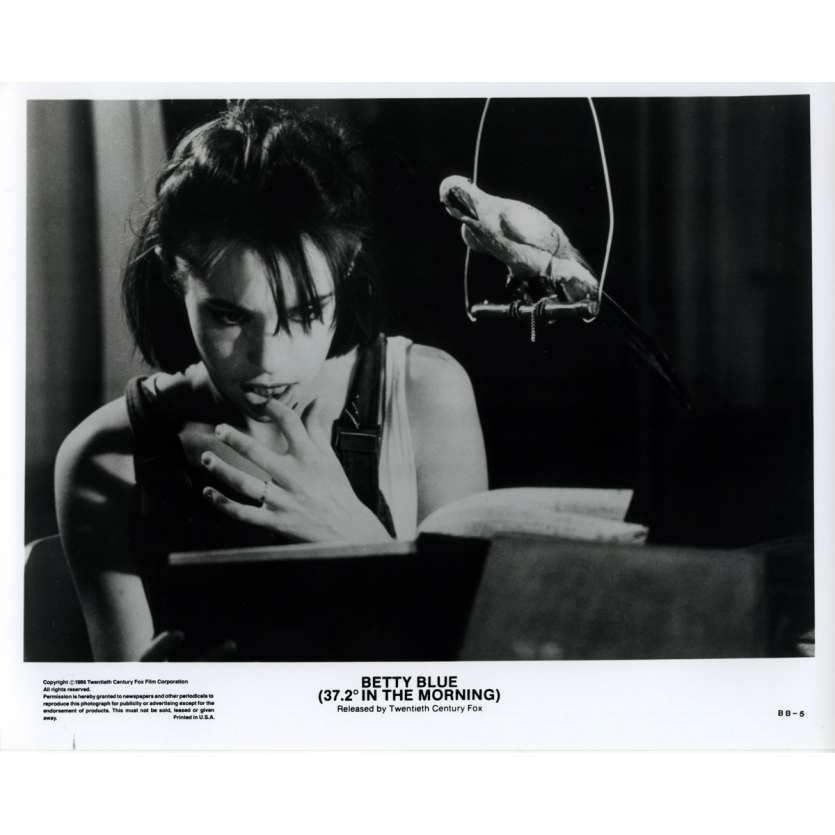 BETTY BLUE US Still 6 8x10 - 1986 - Jean-Jacques Beineix, Béatrice Dalle