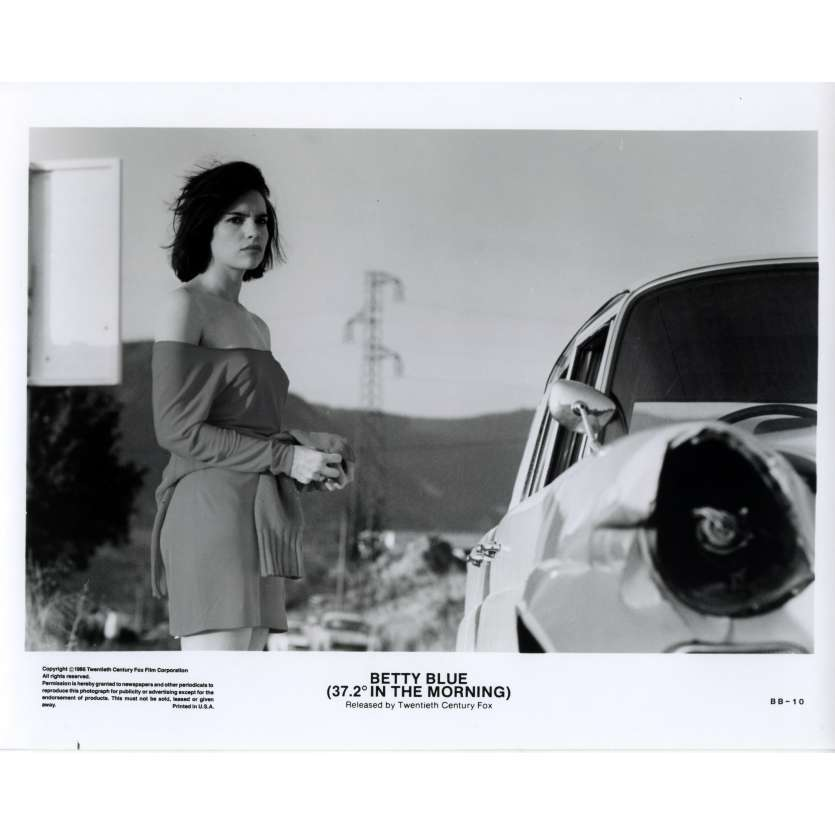 BETTY BLUE US Still 5 8x10 - 1986 - Jean-Jacques Beineix, Béatrice Dalle
