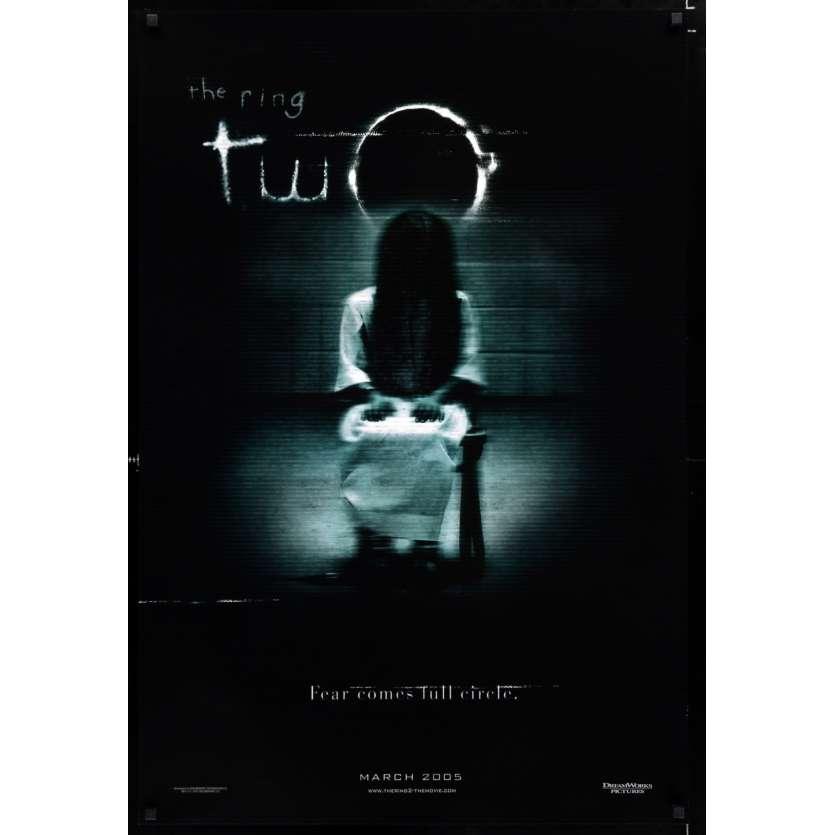 RING 2 US Movie Poster 29x41 - 2005 - Hideo Nakata, Miki Nakatani