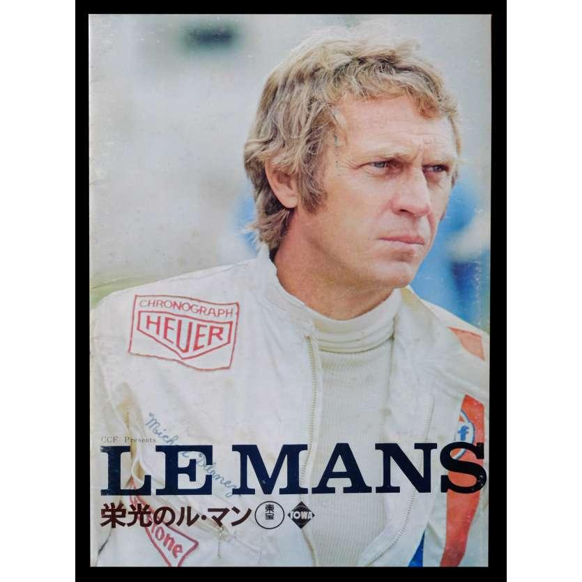 LE MANS Japanese Program 8x10 - 1971 - Lee H. Katzin, Steve McQueen