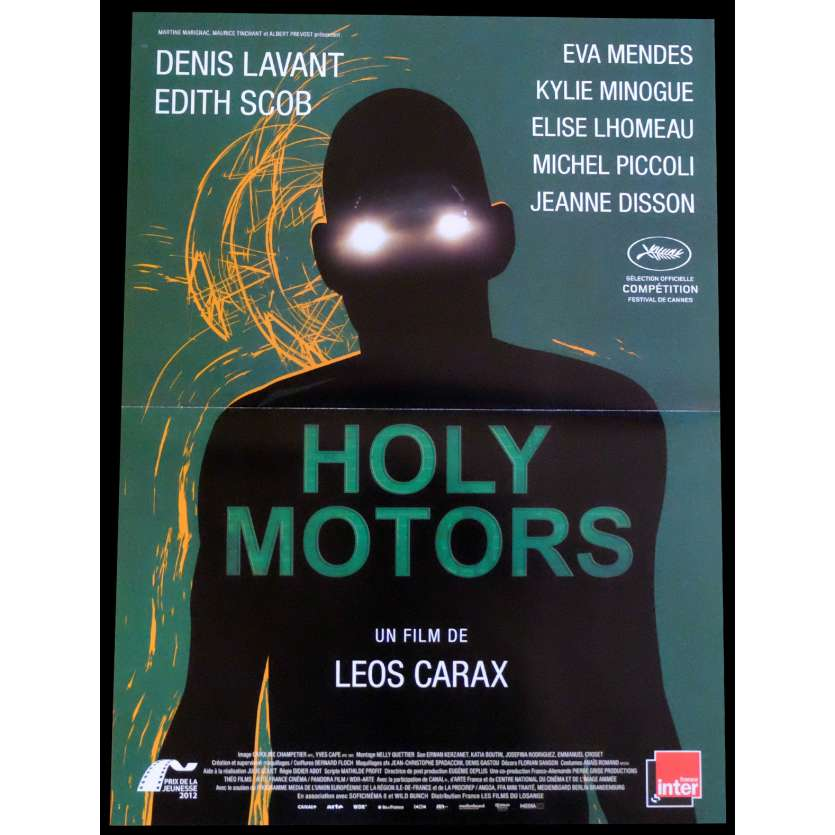 HOLY MOTORS French Movie Poster 15x21 - 2012 - Leos Carax, Denis Lavant