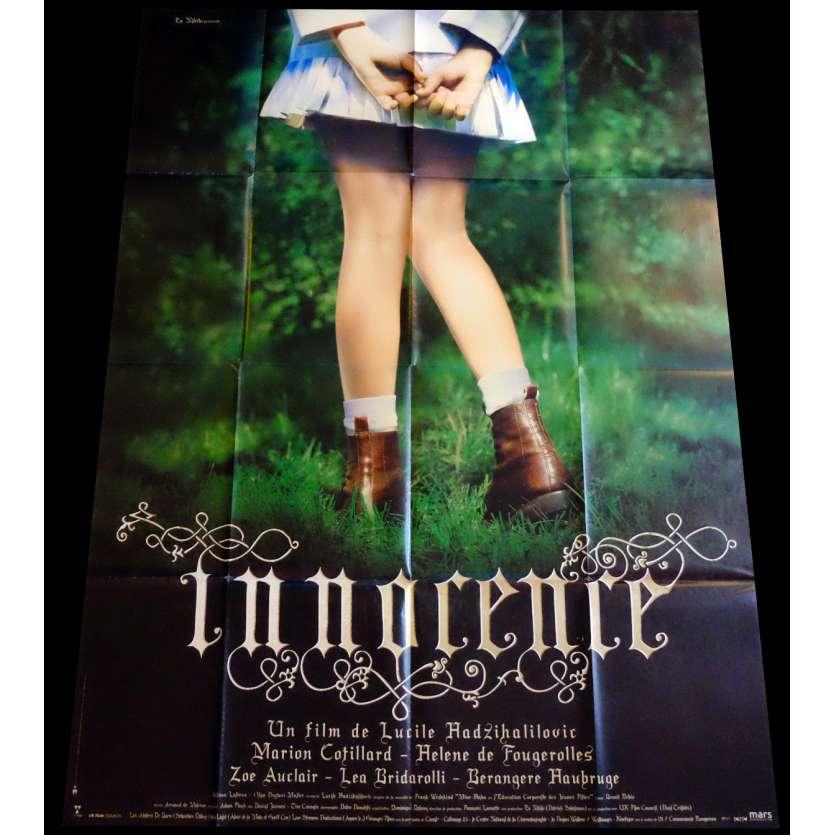 INNOCENCE Affiche de film 120x160 - 2005 - Marion Cotillard, Lucile Hadzihalilovic