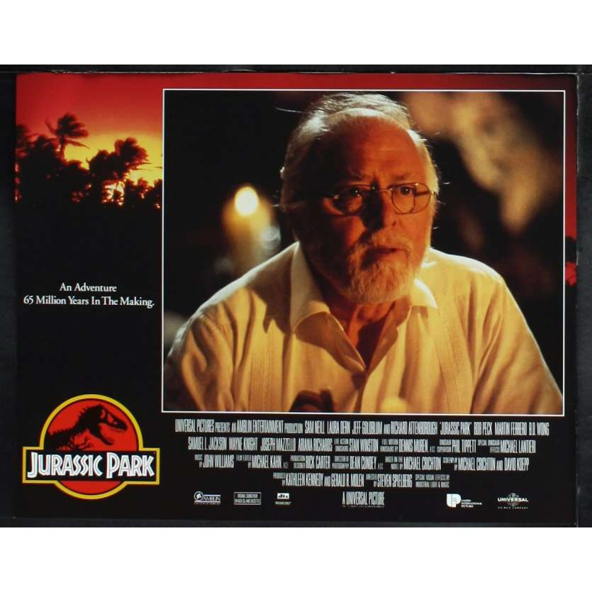 JURASSIC PARK Photo de film N3 28x36 - 1993 - Sam Neil, Steven Spielberg