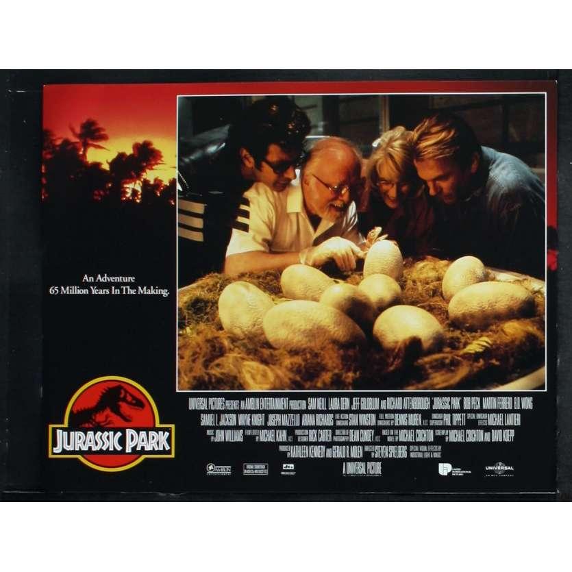 JURASSIC PARK US Lobby Card N1 11x14 - 1993 - Steven Spielberg, Sam Neil
