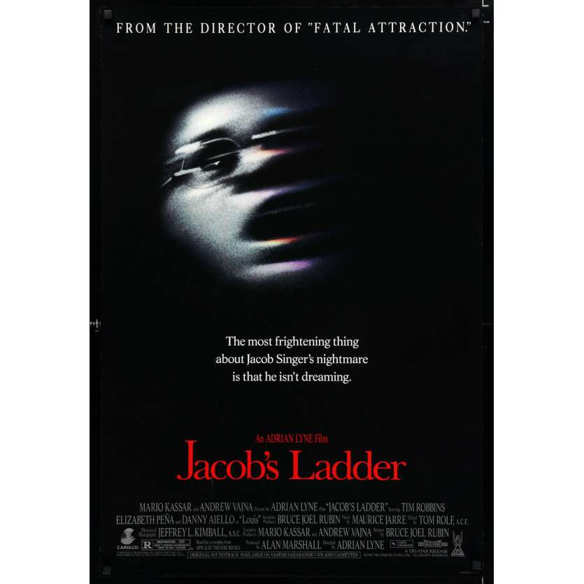 JACOB'S LADDER US Movie Poster 29x41 - 1991 - Adrian Lyne, Tim Robbins