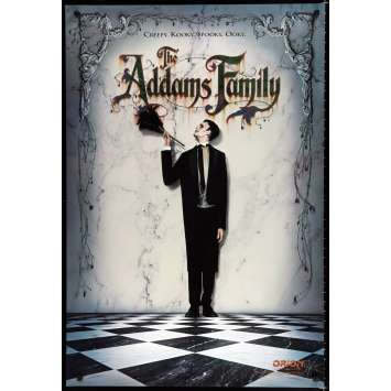 ADDAMS FAMILY US Movie Poster 29x41 - 1991 - Barry Sonnenfeld, Anjelica Huston