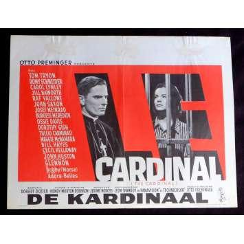 THE CARDINAL Belgian Movie Poster 14x21 - 1963 - Otto Preminger, Romy Schneider