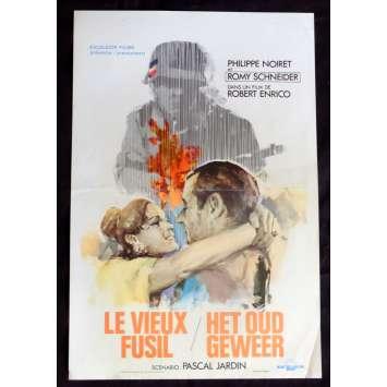 LE VIEUX FUSIL Affiche de film 35x55 - 1975 - Romy Schneider, Robert Enrico