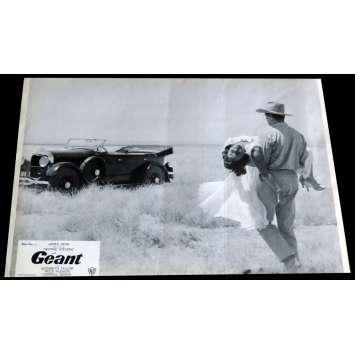 GIANT French Lobby Card 1 - C5 9x12 - R1970 - George Stevens, James Dean