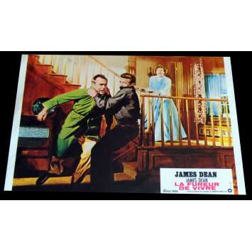 REBEL WITHOUT A CAUSE French Lobby Card 3 9x12 - R1970 - Nicholas Ray, James Dean