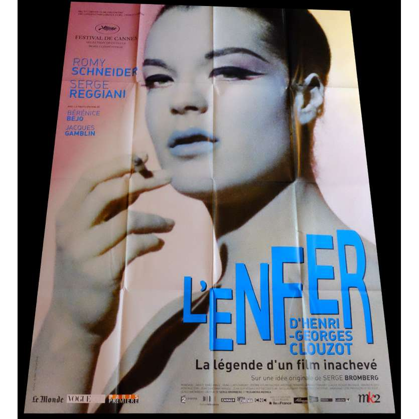 HENRI-GEORGES CLOUZOT'S HELL French Movie Poster 47x63 - 2009 - Henri-George Clouzot, Romy Schneider