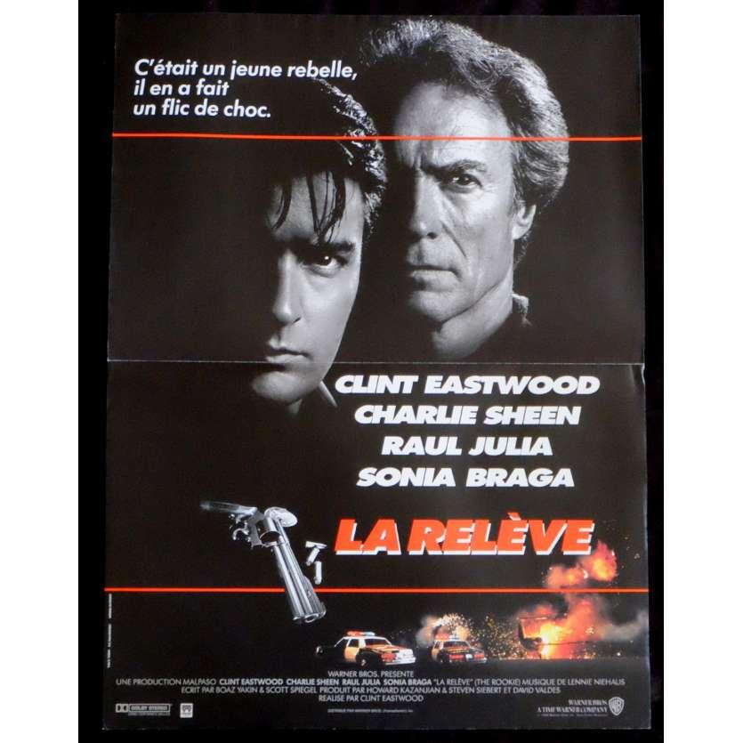 LA RELEVE Affiche de film 40x60 - 1990 - Clint Eastwood, Clint Eastwood