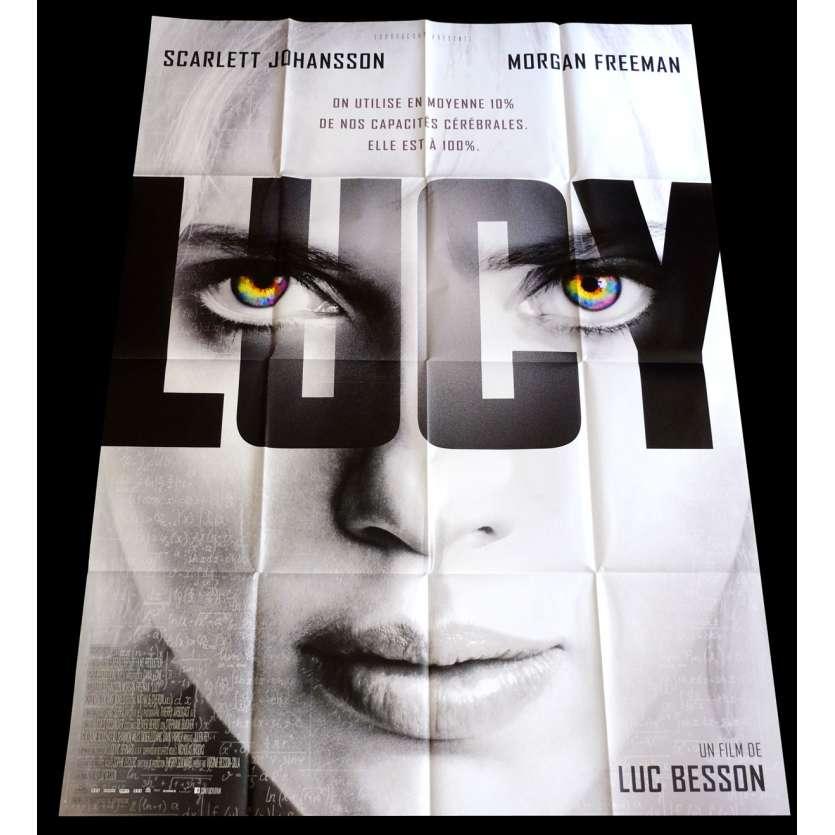 LUCY Affiche de film 120x160 - 2014 - Scarlett Johanson, Luc Besson