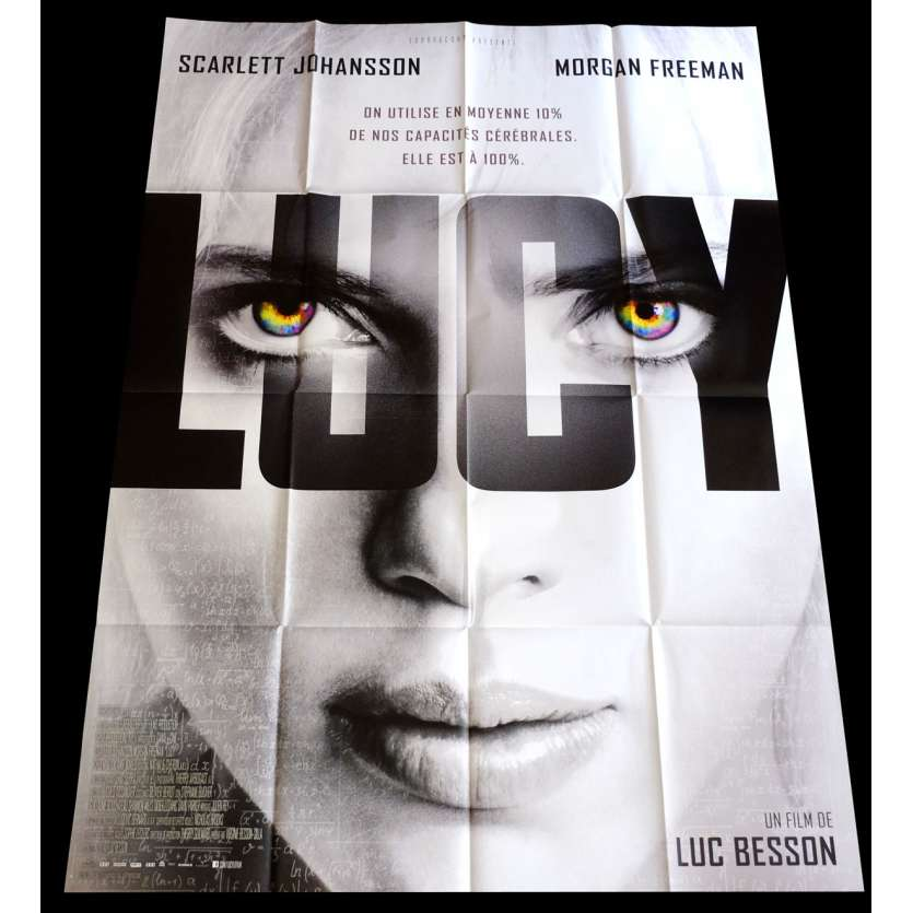 LUCY French Movie Poster 47x63 - 2014 - Luc Besson, Scarlett Johanson