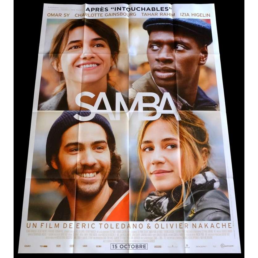 SAMBA French Movie Poster 47x63 - 2014 - Eric Toledano, Omar Sy