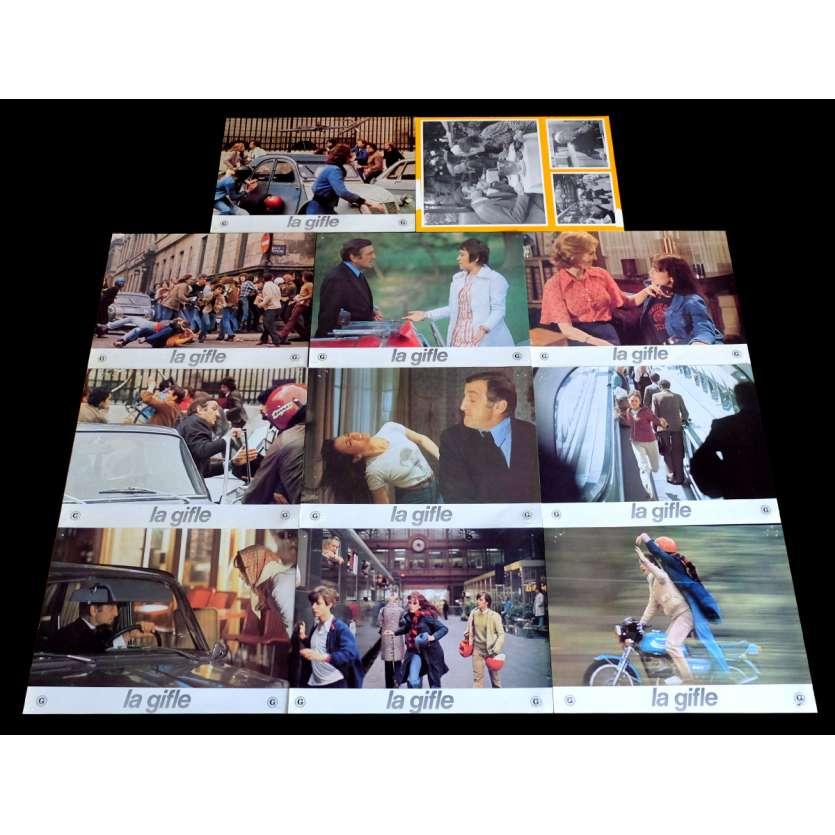 LA GIFFLE Jeu A Photos de film x10 21x30 - 1974 - Isabelle Adjani, Lino Ventura, Claude Pinoteau