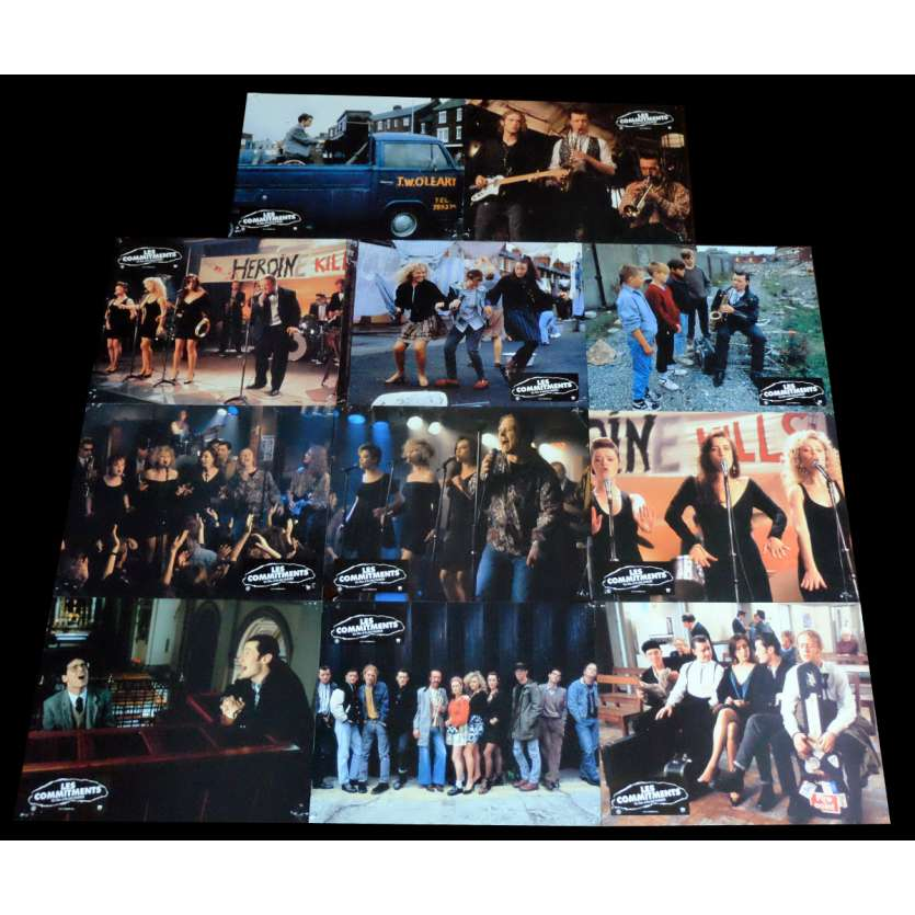 THE COMMITMENTS French Lobby Cards x11 9x12 - 1991 - Alan Parker, Robert Arkins