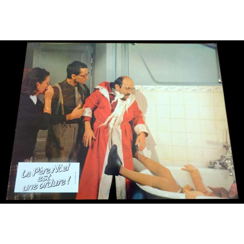 LE PERE NOEL EST UNE ORDURE French Lobby Card 7 9x12 - 1982 - Jean-Marie Poiré, Le Splendid