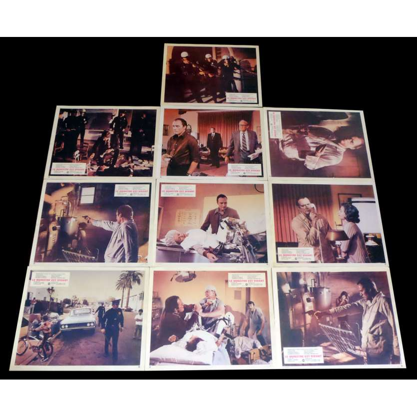 IT'S ALIVE French Lobby Cards x10 9x12 - 1974 - Larry Cohen, Sharon Farrell