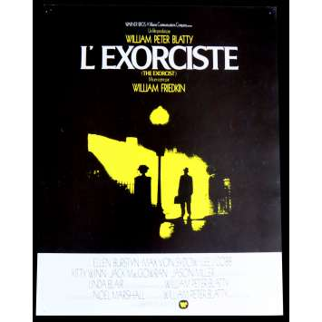 L'EXORCISTE Flyer 21x30 - 1973 - Linda Blair , William Friedkin