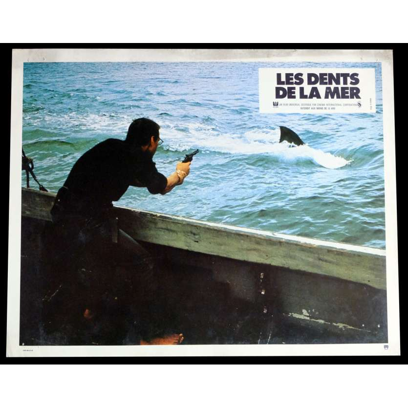 LES DENTS DE LA MER Photo de film 4 21x30 - 1975 - Roy Sheider, Steven Spielberg