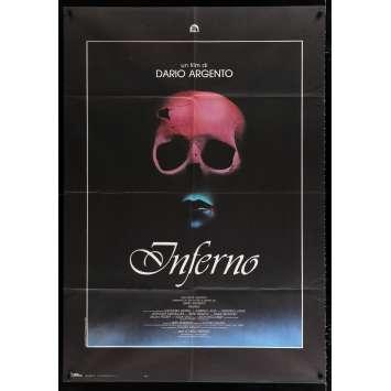 INFERNO Italian Movie Poster 39x55 - 1980 - Dario Argento, Leigh McCloskey