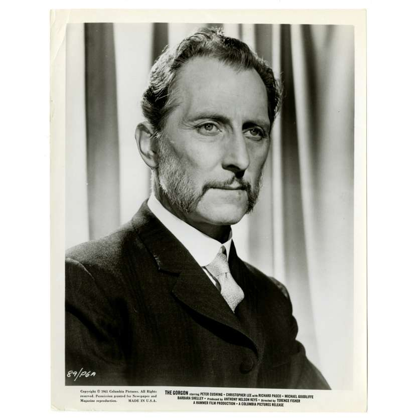 GORGON US Movie Still 8x10 - 1964 - Terence Fisher, Christopher Lee