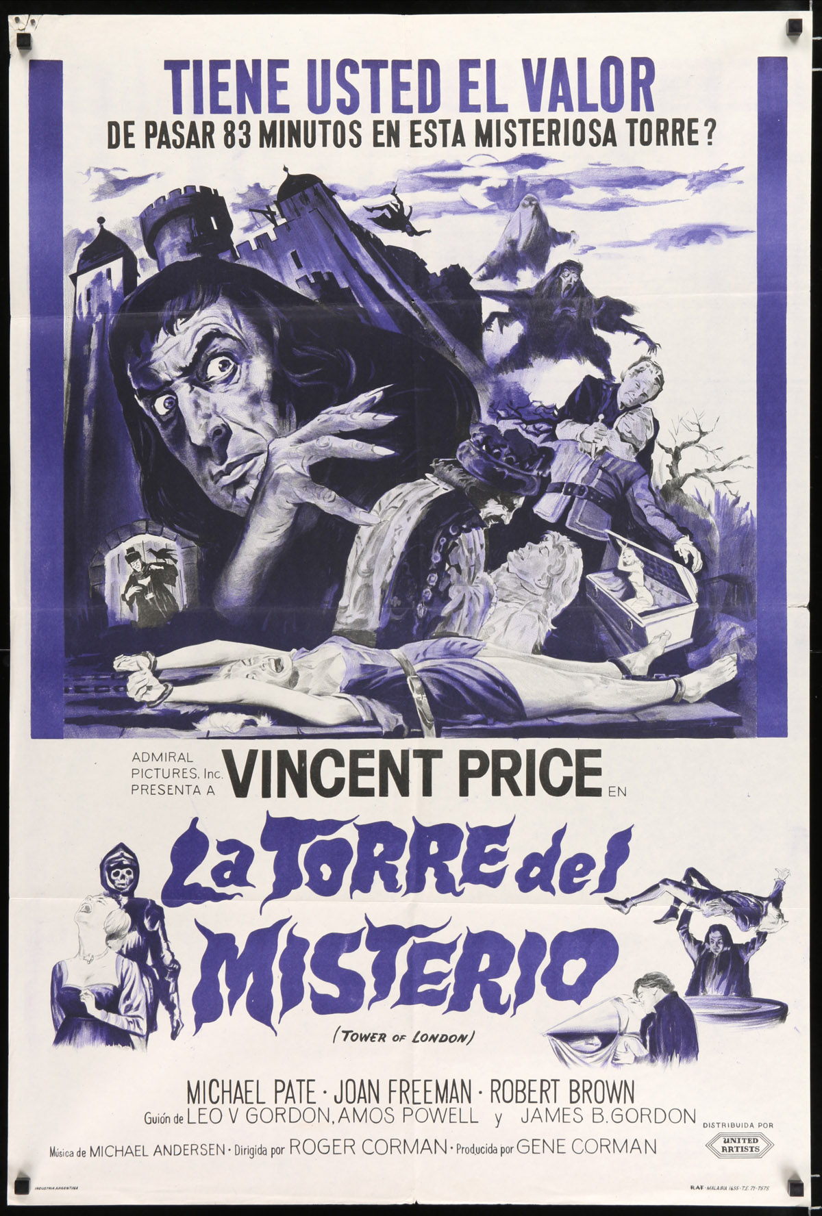 TOWER OF LONDON Movie Poster