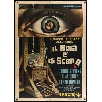 UNE GUILLOTINE POUR DEUX Affiche de film 100x140 - 1965 - Connie Stevens, William Conrad
