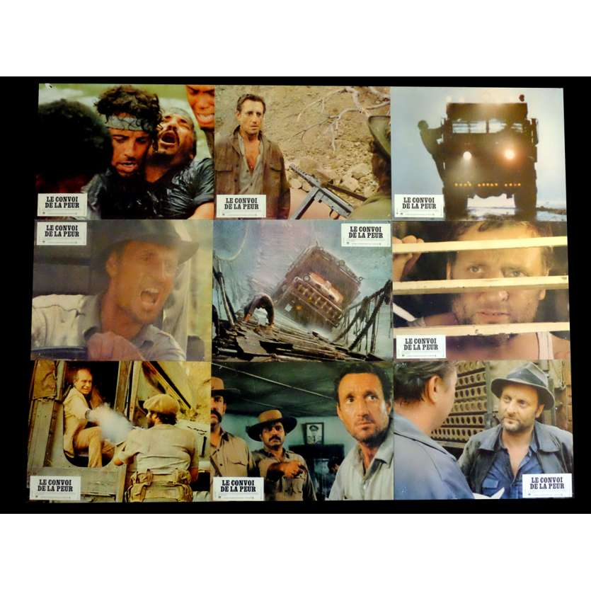 SORCERER French Lobby cards x16 9x12 - 1977 - William Friedkin, Roy Sheider