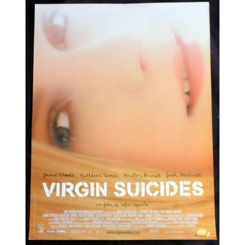 THE VIRGIN SUICIDES French Movie Poster 15x21 - 1999 - Sofia Coppola, Kirsten Dunst