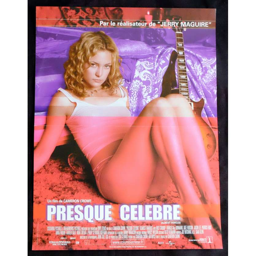 ALMOST FAMOUS French Movie Poster 15x21 - 2000 - Cameron Crowe, Kate Hudson