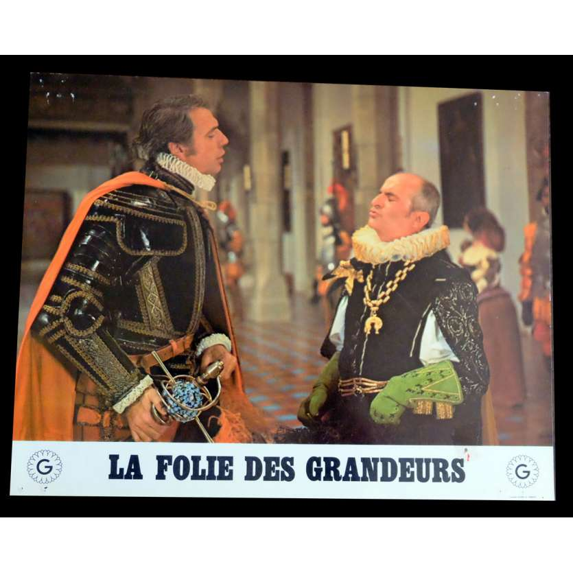 DELUSIONS OF GRANDEUR French Lobby Card N7 9x12 - 1971 - Gérard Oury, Louis de Funes