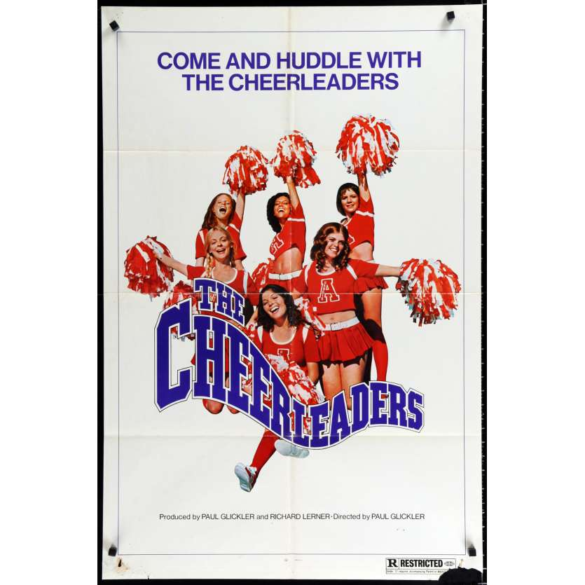 CHEERLEADERS US Movie Poster 29x41 - 1972 - Paul Glicker, Stephanie Fondue