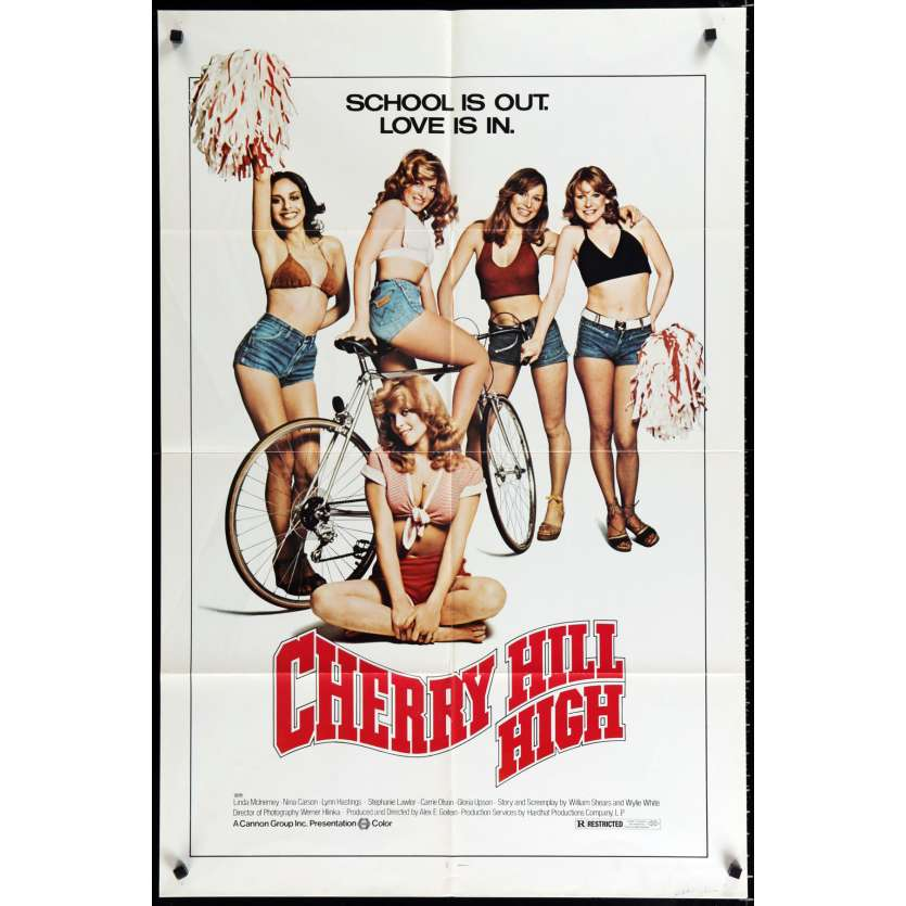 CHERRY HILL HIGH Affiche de film 69x104 - 1976 - Nina Carson, Alex Goiten