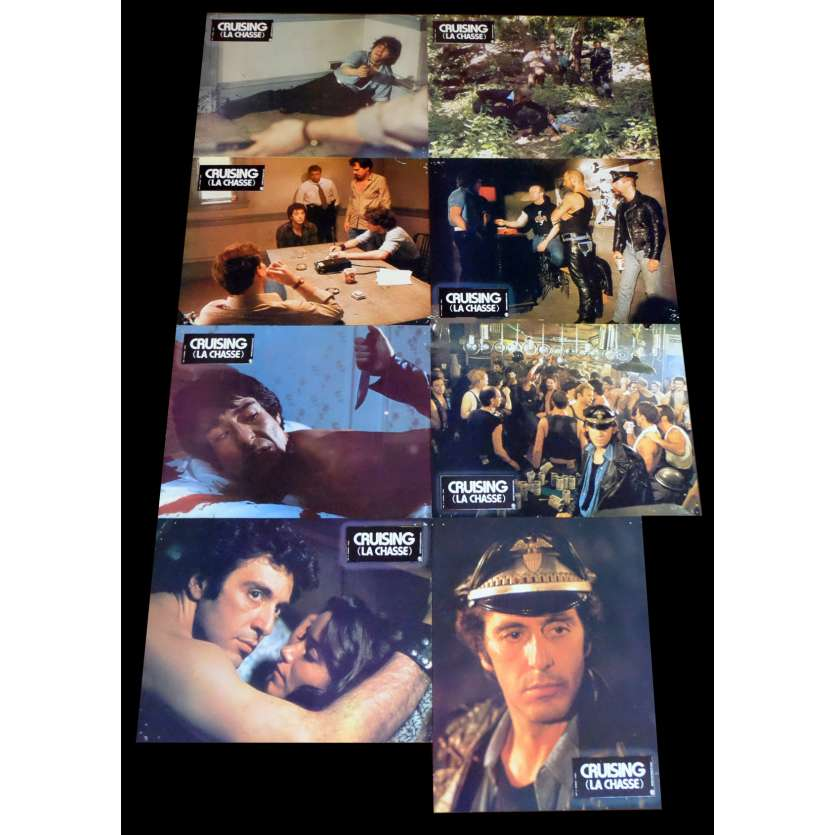CRUISING LA CHASSE Photos de film x16 21x30 - 1980 - Al Pacino, Willam Friedkin